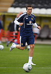 Don Cowie at Scotland training