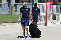 Alex Iacovitti of Nottingham Forest and Scotland heads to the dressing room on his arrival during Czech Republic Under-20 vs Scotland Under-20, Toulon Tournament Football at Stade de Lattre-de-Tassigny on 10th June 2017