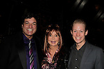 Broadway producer Dale Badway & Jacklyn Zeman - General Hospital - & Aaron Darr - The Jane Elissa Extravaganza 2014 - 19 years  on November 17, 2014 which benefits the Jane Elissa/Charlotte Meyer Endowment Fund which raises revenue that directly supports the research programs of the Leukemia/Lymphoma Society. The grant goes to an individual researcher.  (Photo by Sue Coflin/Max Photos)