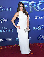 """07 November 2019 - Hollywood, California - Idina Menzel. Disney's """"Frozen 2"""" Los Angeles Premiere held at Dolby Theatre.        <br /> CAP/ADM/BT<br /> ©BT/ADM/Capital Pictures"""