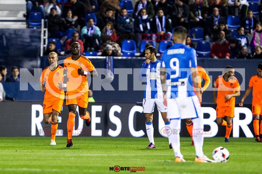 "Valencia's Mangala during the match of ""Copa del Rey"" between CD Leganes and Valencia CF at Butarque Stadium in Leganes, Spain. November 29, 2016. (ALTERPHOTOS/Rodrigo Jimenez) /NORTEPHOTO.COM"