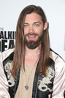 LOS ANGELES, CA - APRIL 15: Tom Payne at AMC&rsquo;s &ldquo;Survival Sunday: The Walking Dead &amp; Fear the Walking Dead LA Fan Event at AMC Century City 15 in Los Angeles, California on April 15, 2018. <br /> CAP/MPIFS<br /> &copy;MPIFS/Capital Pictures