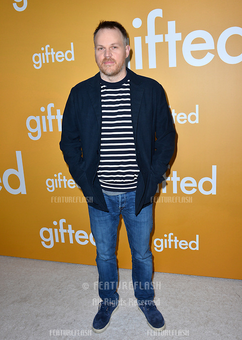 Director Marc Webb at the premiere for &quot;Gifted&quot; at The Grove. Los Angeles, USA 04 April  2017<br /> Picture: Paul Smith/Featureflash/SilverHub 0208 004 5359 sales@silverhubmedia.com