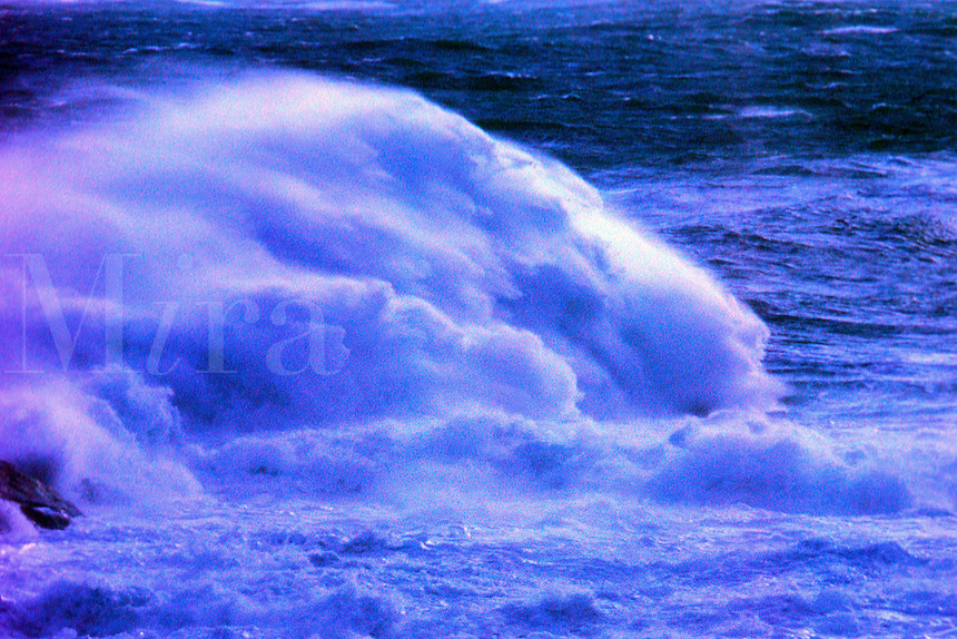 Crashing Wave. Pemaquid Point, Maine
