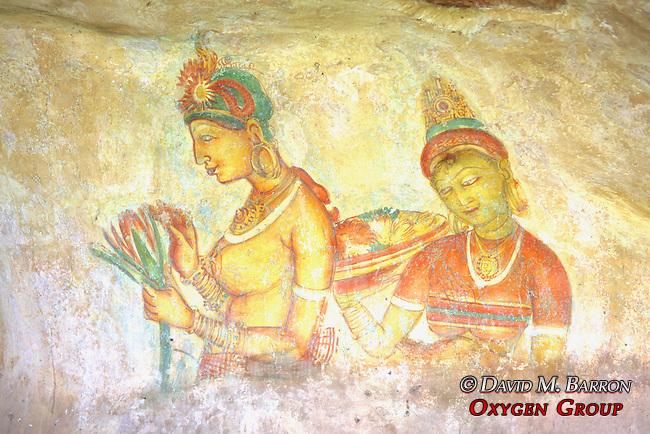 Ancient City of Sigiriya Fresco