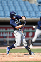 Jonathan India (5) of America Heritage School (5) of Delray in Coral Springs, Florida playing for the Tampa Bay Rays scout team during the East Coast Pro Showcase on August 2, 2014 at NBT Bank Stadium in Syracuse, New York.  (Mike Janes/Four Seam Images)