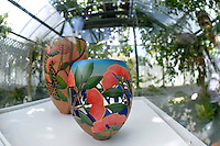 Graeme McIntreye, Pohutukawa Flowers, Shapeshifter 2014, Civic Gardens, Lower Hutt, Wellington, New Zealand on Sunday 2 March2014.<br /> Photo by Masanori Udagawa.<br /> www.photowellington.photoshelter.com.