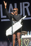 Laura Mvula at Bestival in the Lulworth Castle grounds Dorset 9th sept 2017
