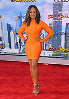 Garcelle Beauvais at the world premiere for &quot;Spider-Man: Homecoming&quot; at the TCL Chinese Theatre, Los Angeles, USA 28 June  2017<br /> Picture: Paul Smith/Featureflash/SilverHub 0208 004 5359 sales@silverhubmedia.com