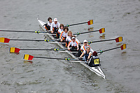 Crew: 152   Tideway Scullers School/Weybridge Rowing Club/St Pauls Girls School   W.MasEF.8+ (E)<br /> <br /> Veterans' Head of the River Race 2018<br /> <br /> To purchase this photo, or to see pricing information for Prints and Downloads, click the blue 'Add to Cart' button at the top-right of the page.