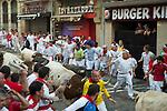 San fermín 2013,encierro del lunes 9/7/13