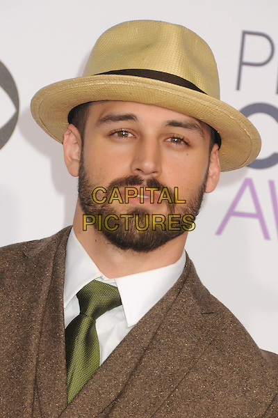 6 January 2016 - Los Angeles, California - Ryan Guzman. People's Choice Awards 2016 - Arrivals held at The Microsoft Theater. <br /> CAP/ADM/BP<br /> &copy;BP/ADM/Capital Pictures