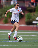 Sky Blue FC midfielder Katy Frierson (17).  In a National Women's Soccer League Elite (NWSL) match, Sky Blue FC defeated the Boston Breakers, 3-2, at Dilboy Stadium on June 16, 2013