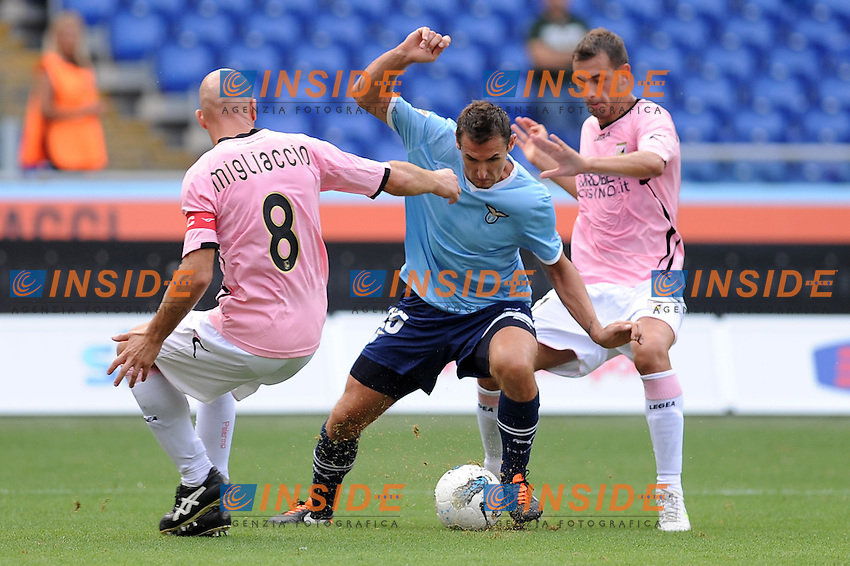 miroslav klose (lazio)..roma 25-09-2011 stadio olimpico..calcio football serie a 2011-2012..lazio palermo..foto insidefoto massimo oliva