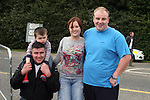 James Dixon, Alex Maguire, Sharon Maguire and Peter Kierans at the Combines for Charity Guinness Book of World Records Attempt...Photo NEWSFILE/Jenny Matthews.(Photo credit should read Jenny Matthews/NEWSFILE)....This Picture has been sent you under the condtions enclosed by:.Newsfile Ltd..The Studio,.Millmount Abbey,.Drogheda,.Co Meath..Ireland..Tel: +353(0)41-9871240.Fax: +353(0)41-9871260.GSM: +353(0)86-2500958.email: pictures@newsfile.ie.www.newsfile.ie.FTP: 193.120.102.198.