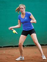 August 12, 2014, Netherlands, Raalte, TV Ramele, Tennis, National Championships, NRTK,  Sarah de Boer (NED)<br /> Photo: Tennisimages/Henk Koster