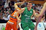 League ACB-ENDESA 2017/2018. Game: 30.<br /> Divina Seguros Joventut vs Valencia Baket Club: 77-75.<br /> Saulius Kulvietis.