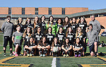 4-21-16, Huron High School girl's varsity soccer team