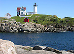Nubble Lighthouse in Maine, USA