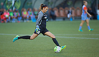 Portland, Oregon - Wednesday September 7, 2016: Houston Dash goalkeeper Lydia Williams (18) during a regular season National Women's Soccer League (NWSL) match at Providence Park.