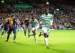 Victor Wanyama celebrates his goal