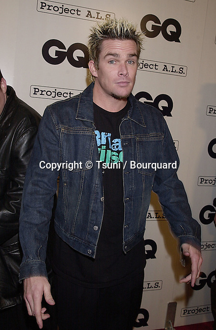 Feb 15, 2001; Los Angeles, CA, USA; <br /> celebrities arriving at the GQ 2nd Annual Hollywood issue in Los Angeles<br /> Mark McGrath - Sugar Ray -<br />           -            McGrathMark02.jpg