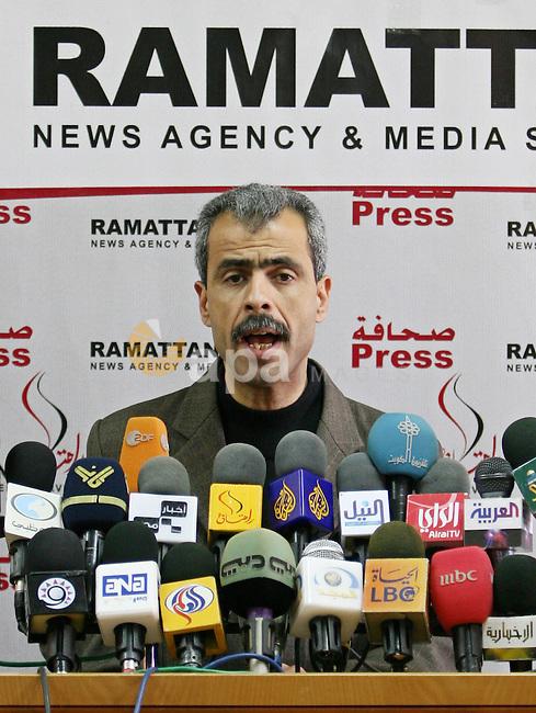 A member of El-Ahrar Faction, Khaled Abu Helal.