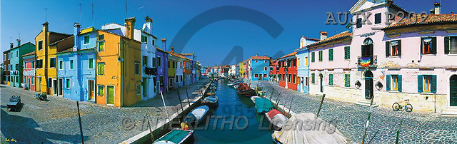 Dr. Xiong, LANDSCAPES, panoramic, photos, Burano, Italy(AUJXP202,#L#)