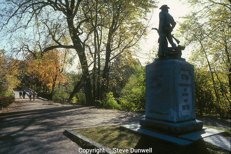 Minuteman monument, North Bridge, Concord, MA