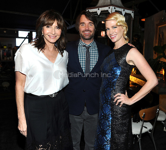 LOS ANGELES - FEBRUARY 24: Mary Steenburgen, Will Forte, and January Jones at an exclusive screening of the premiere episode of FOX's 'The Last Man on Earth' at Big Daddy's Antique Shop on February 24, 2015 in Los Angeles, California. Credit: PGFM/MediaPunch