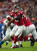 26.10.2014.  London, England.  NFL International Series. Atlanta Falcons versus Detroit Lions. Falcons' QB Matt Ryan [2] in action.