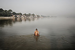 Five hundred million people, about 8 percent of the world's population, live in the Ganges basin. 