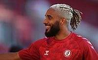 22nd July 2020; Ashton Gate Stadium, Bristol, England; English Football League Championship Football, Bristol City versus Preston North End; Ashley Williams of Bristol City warms up