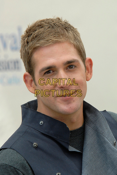 "ERIC SZMANDA.Photocall for ""CSI Las Vegas"" during the 49th Monte Carlo Television Festival at the Grimaldi Forum, Monte-Carlo, Monaco..June 11th, 2009.headshot portrait blue.CAP/RD.©Richard Dean/Capital Pictures."