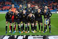27th February 2020; St Jakob Park, Basel, Switzerland; UEFA Europa League Football, FC Basel versus APOEL Nicosia; The APOEL Nicosia team lineup before the match