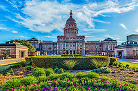 Another great image of our State Capital in Austin it is part of the cityscape in downtown area.  It is one of the most popular tourist destination in the city so it is almost alway got people there.  This is my favorite spot to photograph from because of the grounds are kept nice most of the year.