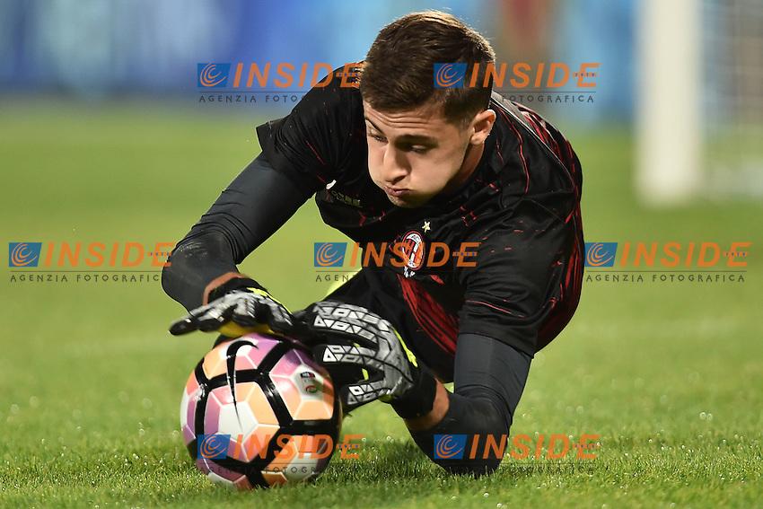 Alessandro Plizzari Milan <br /> Firenze 25-09-2016  Stadio Artemio Franchi <br /> Campionato Serie A Fiorentina - Milan <br /> Foto Andrea Staccioli / Insidefoto