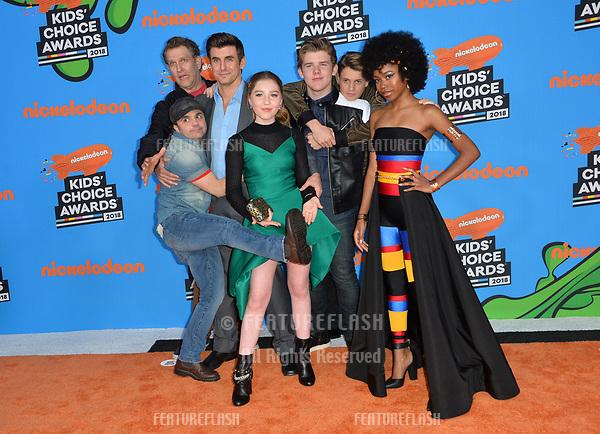 2018 Kids Choice Awards Arrivals Los Angeles 24 Mar 2018