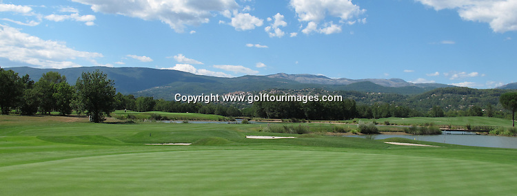 Selection of images from Le Chateau Course, Terre Blanche, France: Picture Stuart Adams www.golftourimages.com: 2012