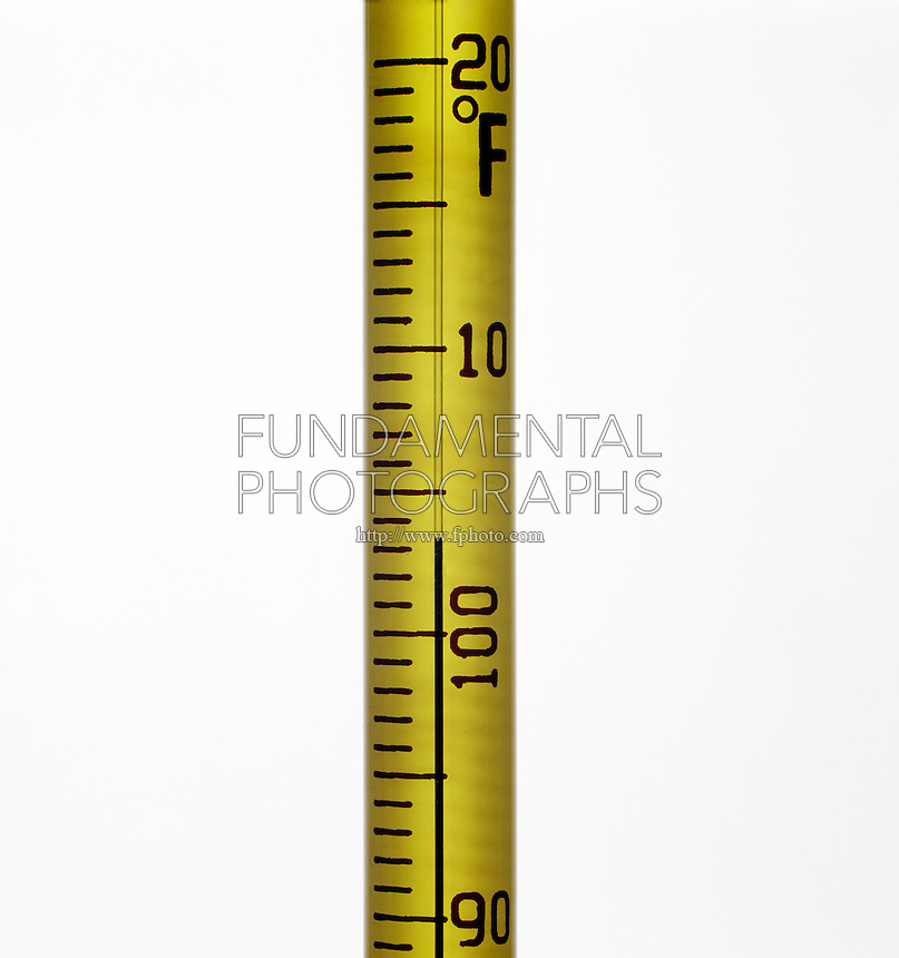 APPROXIMATE MEASUREMENT. Thermometer Reading 103.4'F. This thermometer has markings every two degrees, the reading of 103.4'F must be estimated.