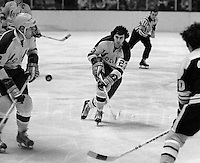 California Golden Seals #23Ivan Boldirev. (1971 photo/Ron Riesterer)
