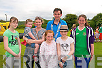 Family Fun Day :Attending the family fun day at Listowel Celtic 's 50th year Jubilee celebrtaion at Kennedy Park, Listowel on Saturday last were Lisa Stackpoole, Lucy & Norette Kissane, Mayor of Listowel Cllr. Jimmy Moloney, , Niamh canty And Valeria Guiney & Eva Brown in front.