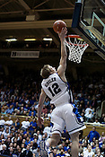 November 28, 2008. Durham, NC.. Duke vs. Duquesne at Cameron Indoor Stadium..Forward Kyle Singler, #12, had 21 points and 7 rebounds in the 95-72 Duke victory.
