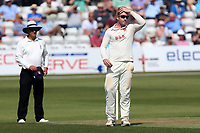 Frustration for Simon Harmer of Essex during Essex CCC vs Middlesex CCC, Specsavers County Championship Division 1 Cricket at The Cloudfm County Ground on 26th June 2017