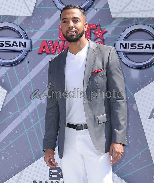 26 June 2016 - Los Angeles. Christian Keyes. Arrivals for the 2016 BET Awards held at the Microsoft Theater. Photo Credit: Birdie Thompson/AdMedia