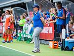Den Bosch  - bondscoach Alyson Annan (Ned)     tijdens  de Pro League hockeywedstrijd dames, Nederland-Belgie (2-0). COPYRIGHT KOEN SUYK