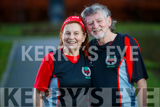 Brian and Julie Byrne from Listowel - only married couple to have completed the 100 marathons through Marathon Club Ireland