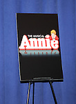 Meet & Greet for 'ANNIE' at The New 42nd Street Rehearsal Studios in New York City on September 112, 2012