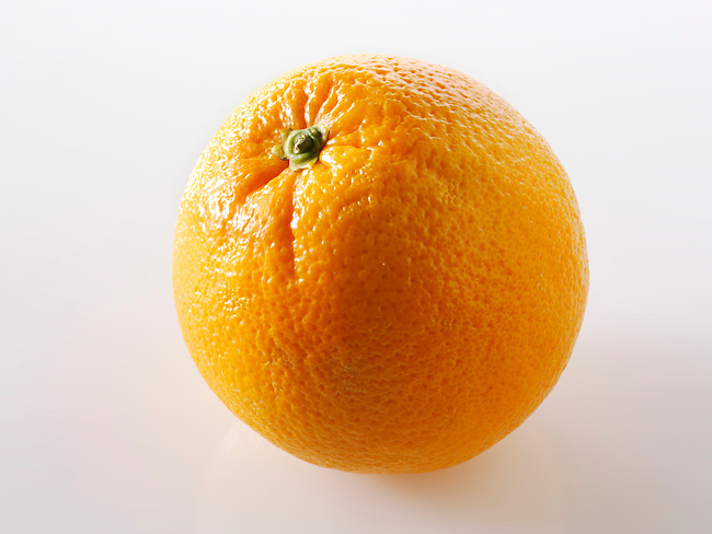 Fresh whole orange