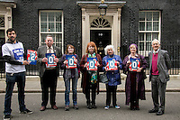 "11.03.2015 - ""Save Our Bus Pass' Petition Delivered to 10 Downing Street"""